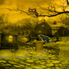 Haunted-halloween-village-escape